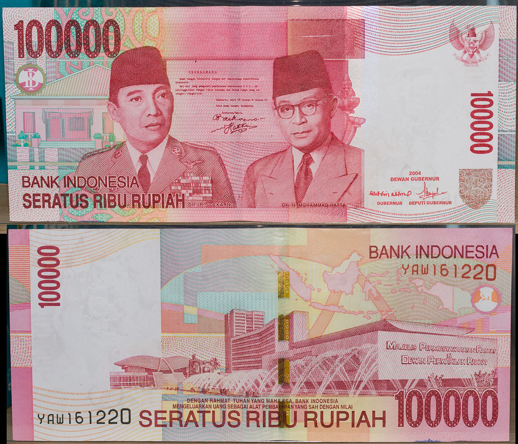 IMG_8527 Indonesian 100,000 Rupiah | The higher ...