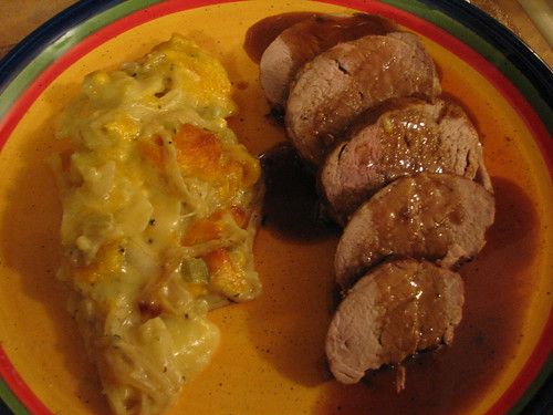 Pork Medallions with Port Wine & Mustard Sauce ...