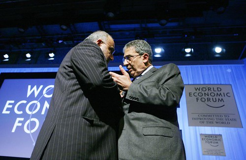 Adil Abd al-Mahdi, Amre Moussa - World Economic Forum Annual Meeting Davos 2007 | by World Economic Forum