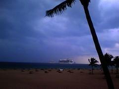 Cruise Ships Sail Away - Fort Lauderdale, Florida | by gregor_y