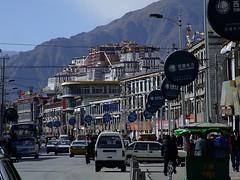 Lhasa Tibet 西藏拉萨街景