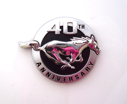 MUSTANG 40TH ANNIVERSARY | by LinBow