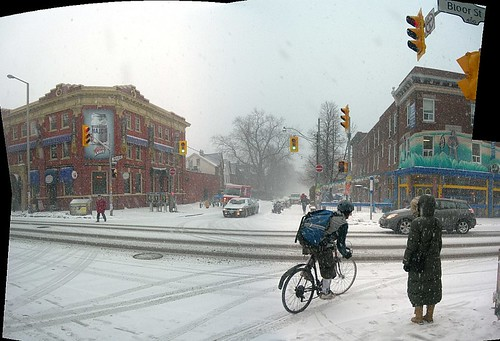 Bloor street and Brunswick avenue intersection circa 3 p.m. Thursday March 1, 2007 | by HiMY SYeD / photopia