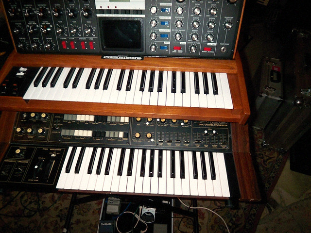 Alice Daisy 180 S Moog Voyager And Yamaha Cs Dual Channel Synt