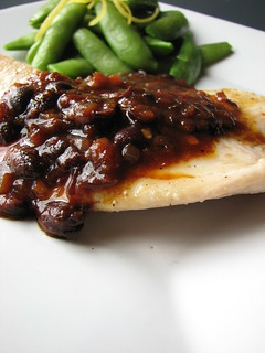 Tilapia with Spicy Black Bean Sauce II | by britton618
