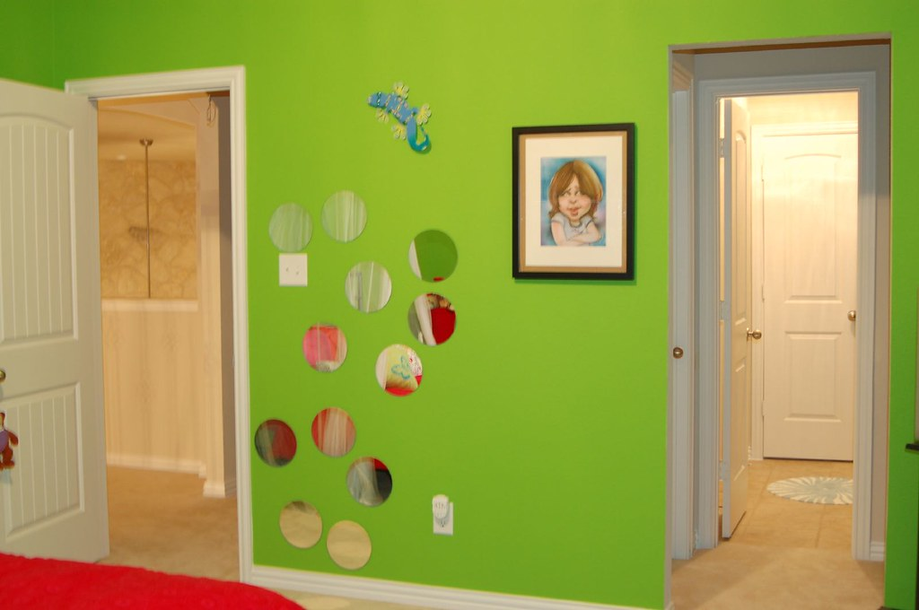 Lime Green Wall Decor