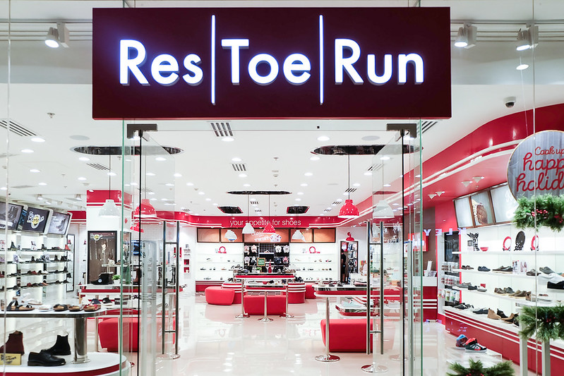 Res|Toe|Run Opens at UP Town Center