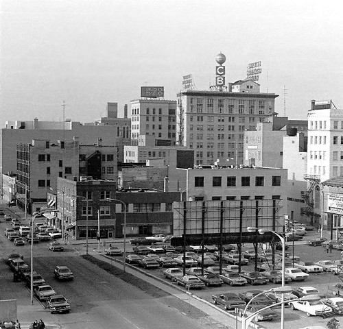 Downtown Flint In 1977 Downtown Flint Michigan Circa