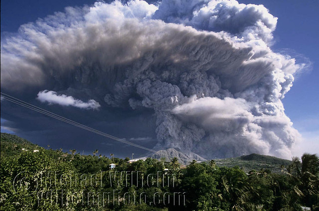 montserrat volcano eruption 1995 Discover montserrat's city of ash in hills volcano on the caribbean island of montserrat the volcano has been state of eruption since 1995.