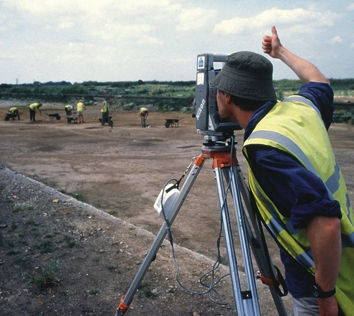 Surveying at Heathrow | by Wessex Archaeology