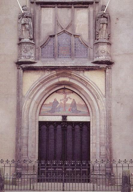 ... Dr. Martin Lutheru0027s Church Door - Wittenburg Germany u002793 | by Mikey G & Dr. Martin Lutheru0027s Church Door - Wittenburg Germany u002793 | Flickr