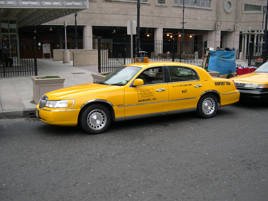 Lincoln Town Car Taxi Triborough Flickr