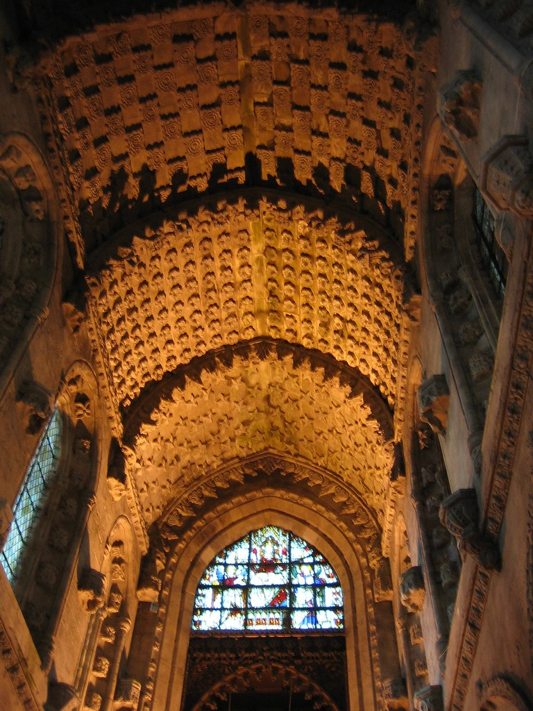 Rosslyn Chapel Stone Rose Ceiling The Stone Roses On The