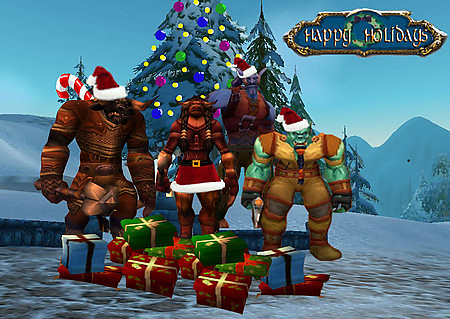 2006 christmas card by thelolifer 2006 christmas card by thelolifer - World Of Warcraft Christmas