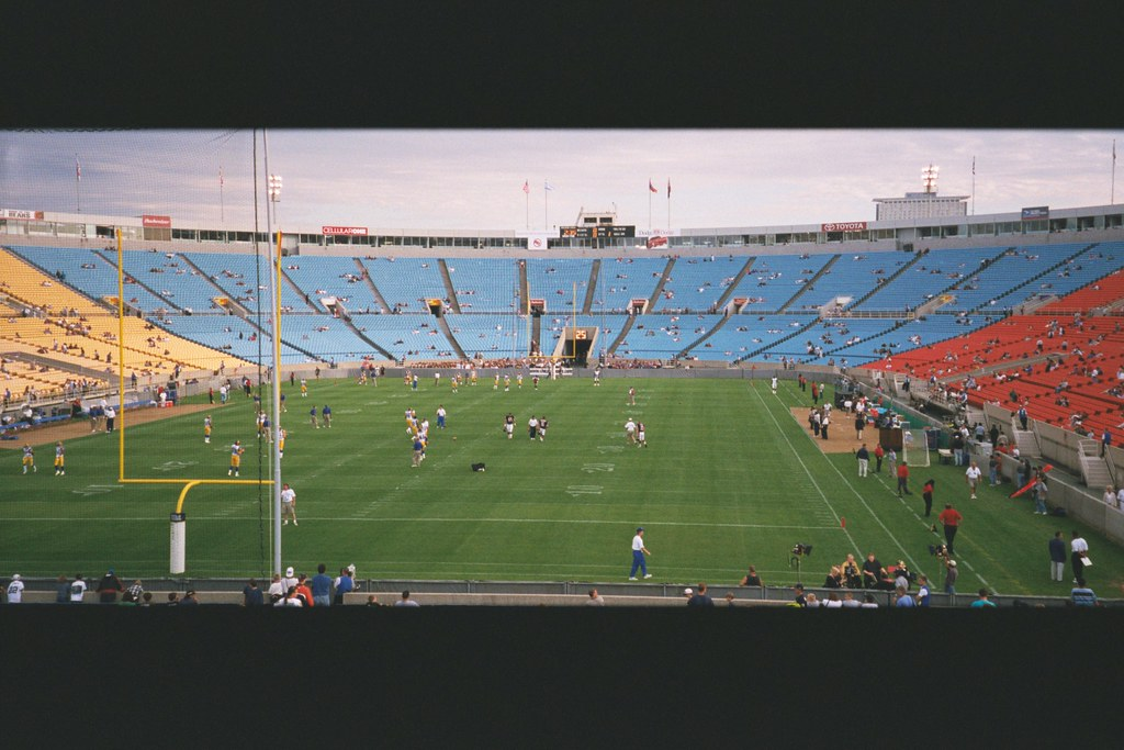 Old Soldier Field 1999 Preseason Game Against The St