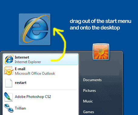 how to get word icon on desktop