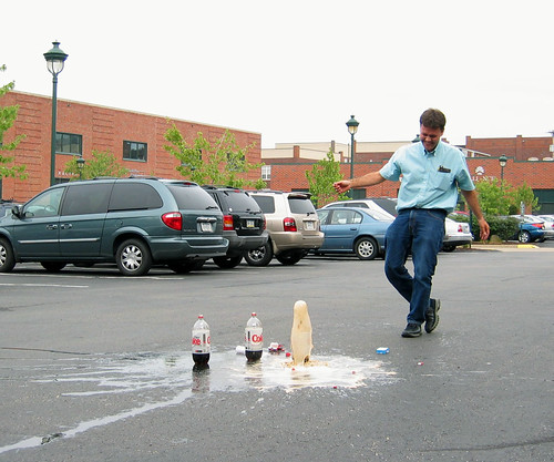 Schell Games experiments with Diet Coke and Mentos | by Jason Pratt
