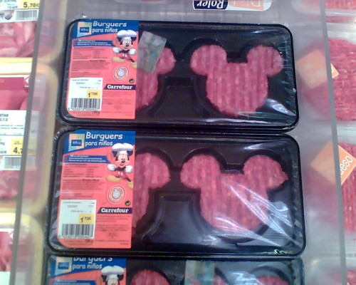 mickey mouse shaped burgers