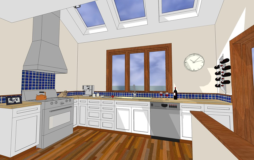 Future Kitchen Gotta Love Sketchup Original Model By