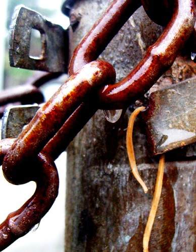 chained out | by Darwin Bell