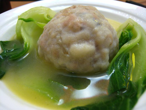 Pork & crab meatball in soup, lion's head | by star5112