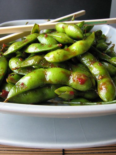 Chili Garlic Edamame | by britton618