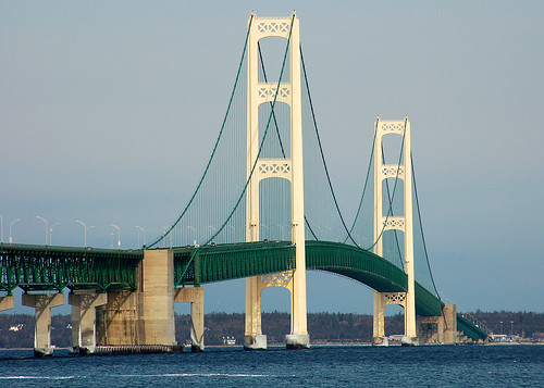 Mackinac Bridge | by I am Jacques Strappe