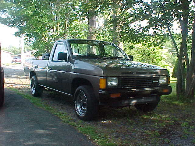Nissan Diesel Truck >> 1987 Nissan diesel pickup | The last year for the SD-25 NA D… | Flickr