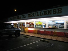 taqueria at night | by Liz Henry