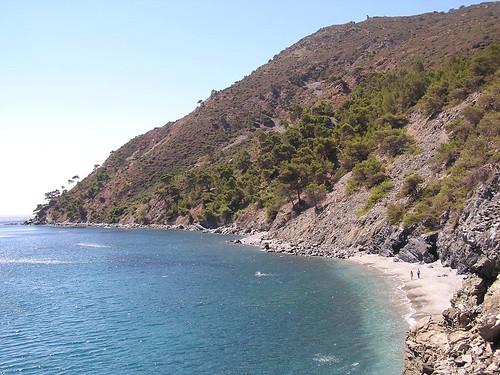 Vue sur les Sablettes et Saint Mandrier - La Seyne sur Mer