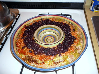 12 Layer Taco Dip, layers 1 6