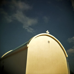 Blue Sky and Blue Roof To God's Vision | by Terrorkitten
