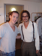 Johnny Depp Backstage at the Ahmanson Theatre | by Edward Scissorhands Tour