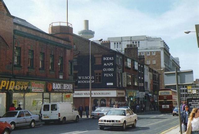 Renshaw Street, Liverpool. June 1993.