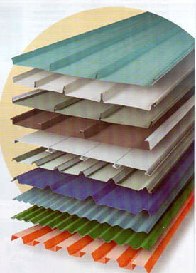 Metal roofing colors and styles call today for your free for Tin roof styles