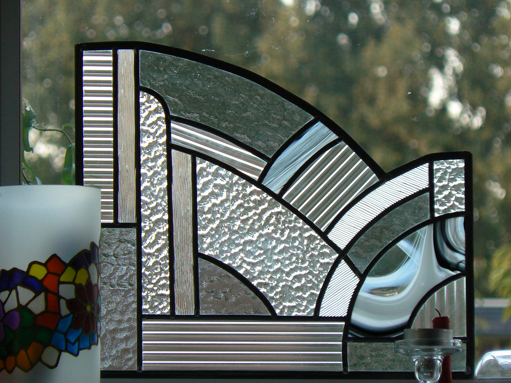 Art Deco Stijl : Art deco stijl glas in lood fred van wingerden flickr