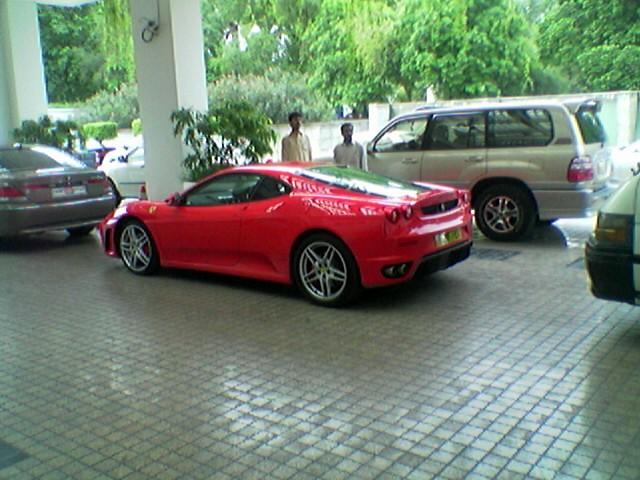 ... Hot Cars In Pakistan, Ferrari 430  BMW 7 Series In Pakistan | By