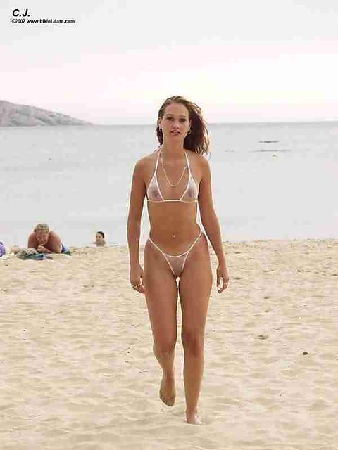 The bikini bikini dare dare weasel wicked she has one