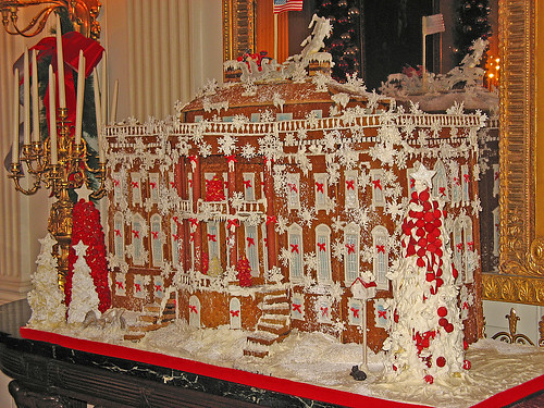Gingerbread White House | Used in a blog: softiescentral.typ ...