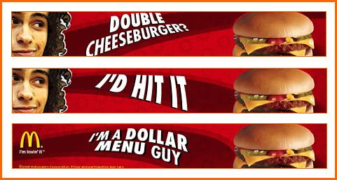 Free Food Ad Banner