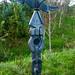 Milepost near Eden