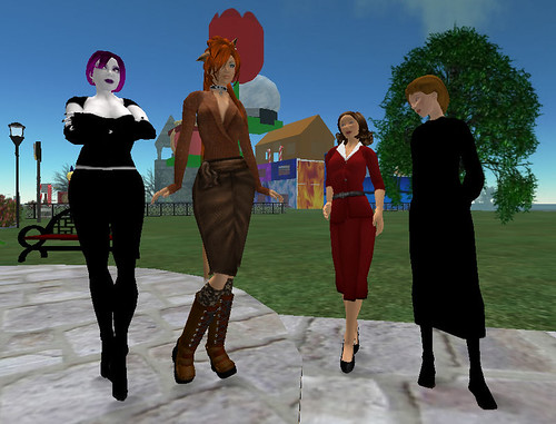 Network Services Staff Avatars in Second Life | by Nebraska Library Commission