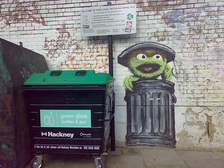hackney council's newest recycling collector | by clurr