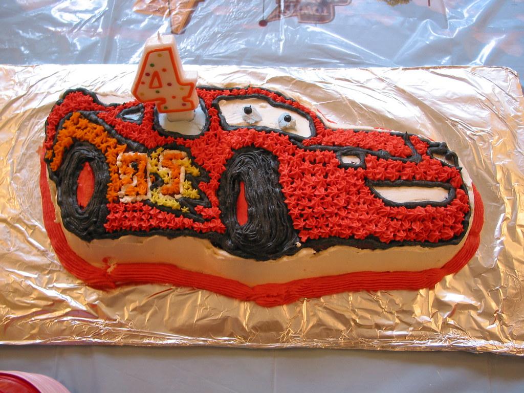 Birthday Cake John Lewis : Lightning McQueen Birthday Cake My son s birthday cake ...