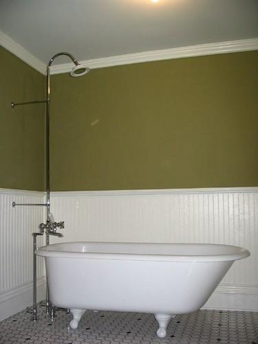 clawfoot tub shower tada mindy flickr