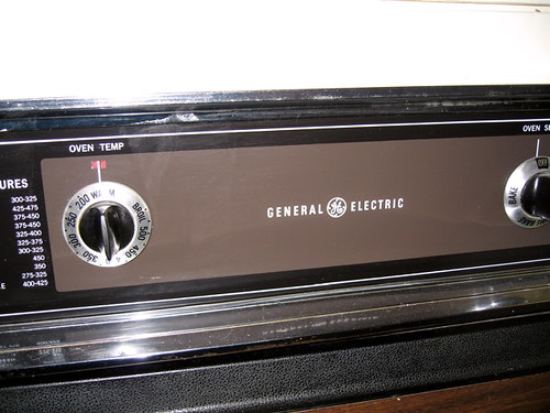 GE Oven Dials (middle) | by mrbill