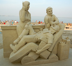 Sand Sculpture -A Visit to The Denist | by KellyBear1