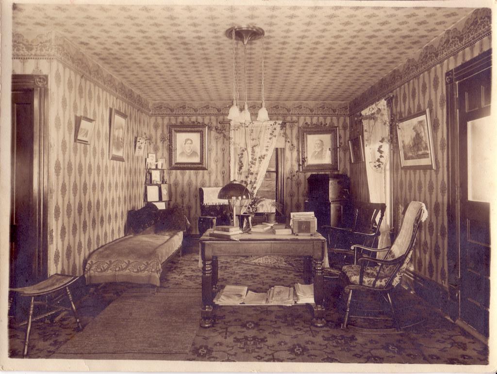 Victorian Parlor Interior Victorian Period Parlor In A