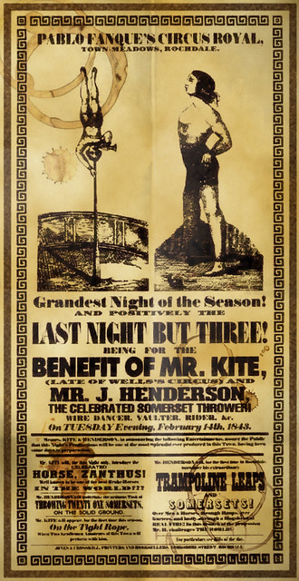 Being For The Benefit Of Mr Kite A Distressed Version