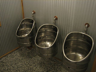 Keg shaped urinals | by ghewgill